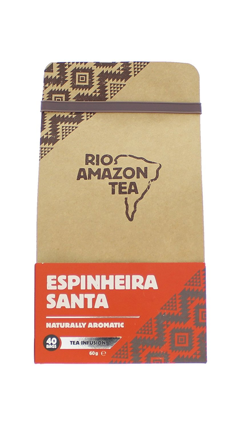 Espinheira Santa Tea 40 Teabags by Rio Amazon