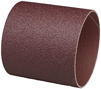 """3M  Cloth Band 341D, 3"""" Diameter x 3"""" Width, 36 Grit, Brown (Pack of 50)"""