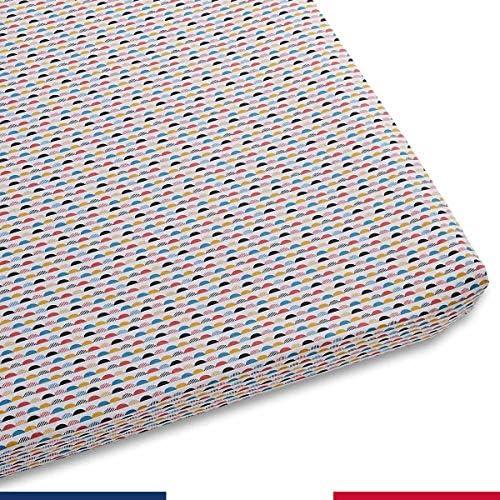 Atelier de Morph/ée Drap Housse pour Enfant Moshi Rectangle 50x100