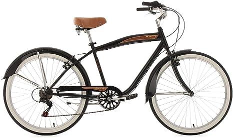 KS Cycling 729B - Bicicleta cruiser para hombre, cuadro 46 cm ...