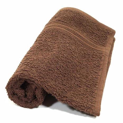 Toallas de mano toalla marrón serie 500gsm 30 x 50 cm