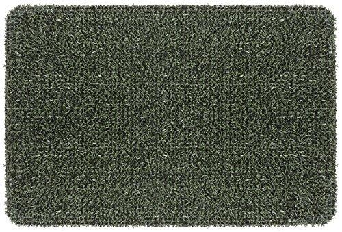 GrassWorx Clean Machine Flair Doormat, 24' x 36', Evergreen (10372033)