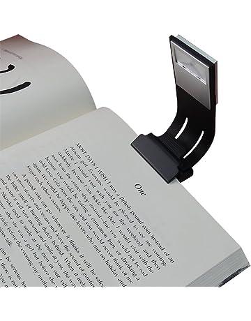 Luz de lectura de clip, luz de libro LED de brillo de Areson 4 niveles