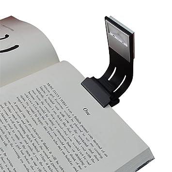 de clipluz de LED Luz de y Bookmark brillo cama lectura de con 4 niveles lámpara de para escritorio como Areson multifuncional lectura de libro Yyg76vbf