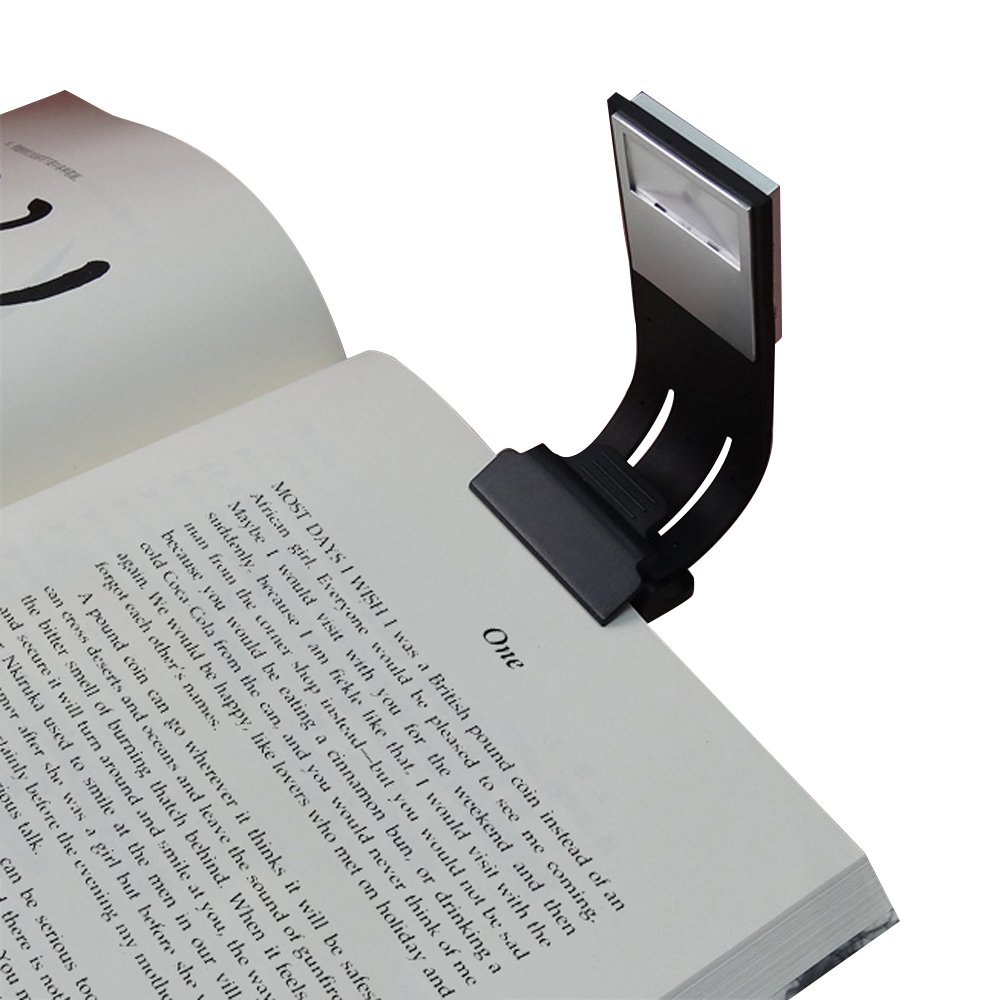 Clip Reading Light,AoLiPlus Tough Switch 4 Levels Brightness LED Book Light Multifunctional as Bookmark Desk & Bed Lamp for Reading with Soft Cover and Hard Cover Books,Magazines,eReaders,etc