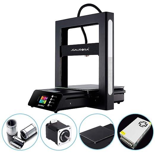 JGAURORA A5S Impresora 3D con pantalla a color Actualización de ...