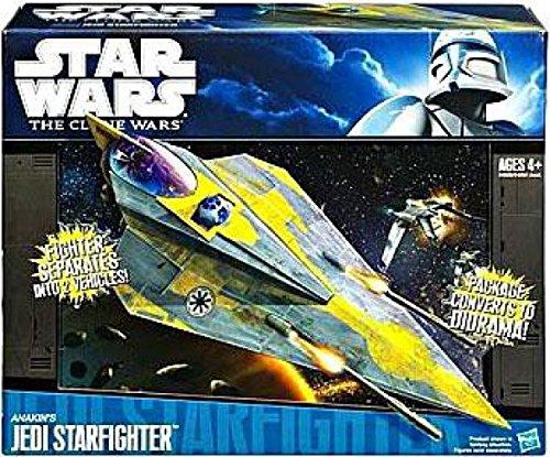 (Hasbro Star Wars Clone Wars Star Fighter Vehicle - Anakins Star Fighter)
