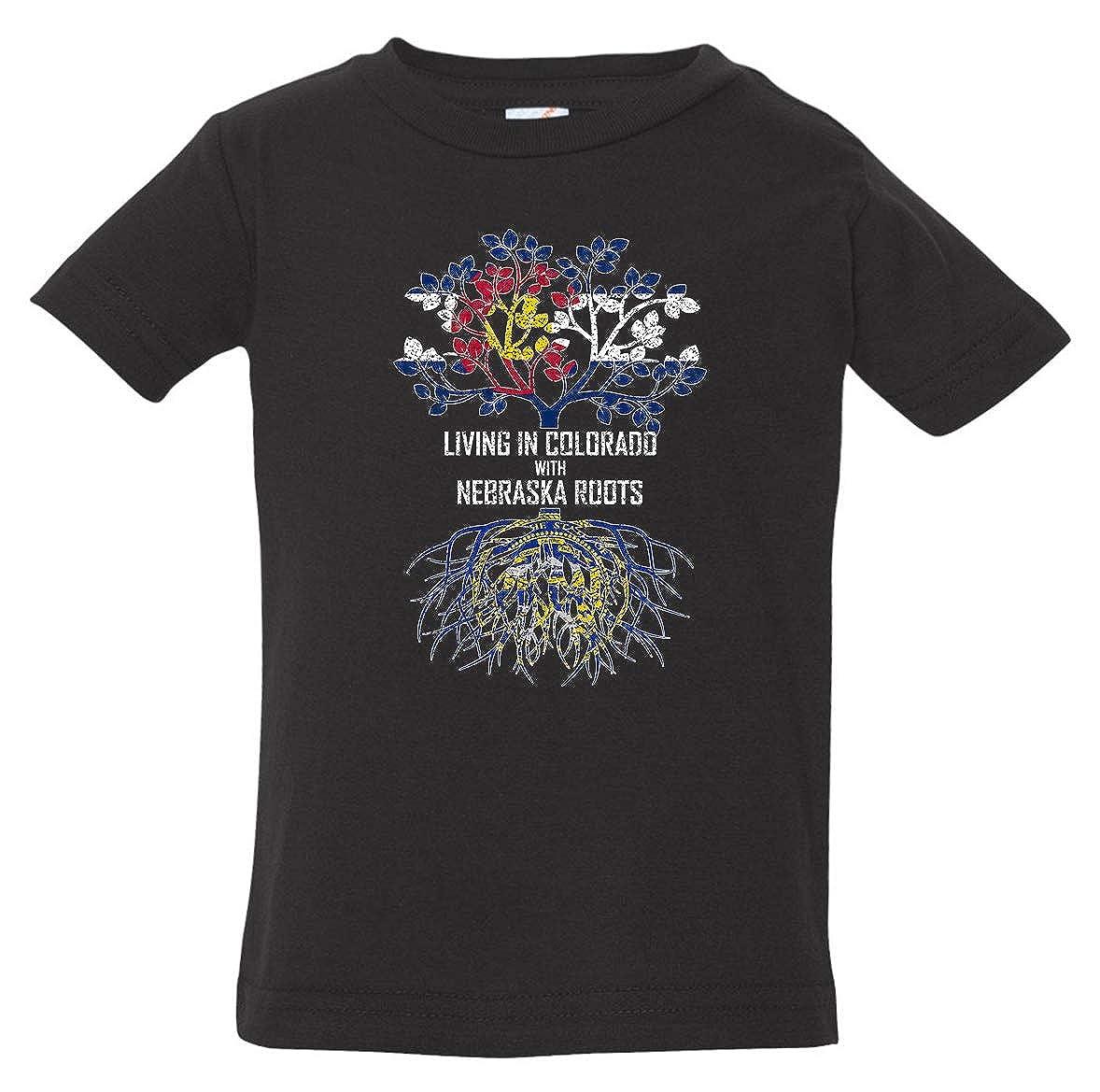 Tenacitee Babys Living in Colorado Nebraska Roots Shirt