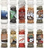 Dean Jacob's 10 pc. Glass Grinder Collection