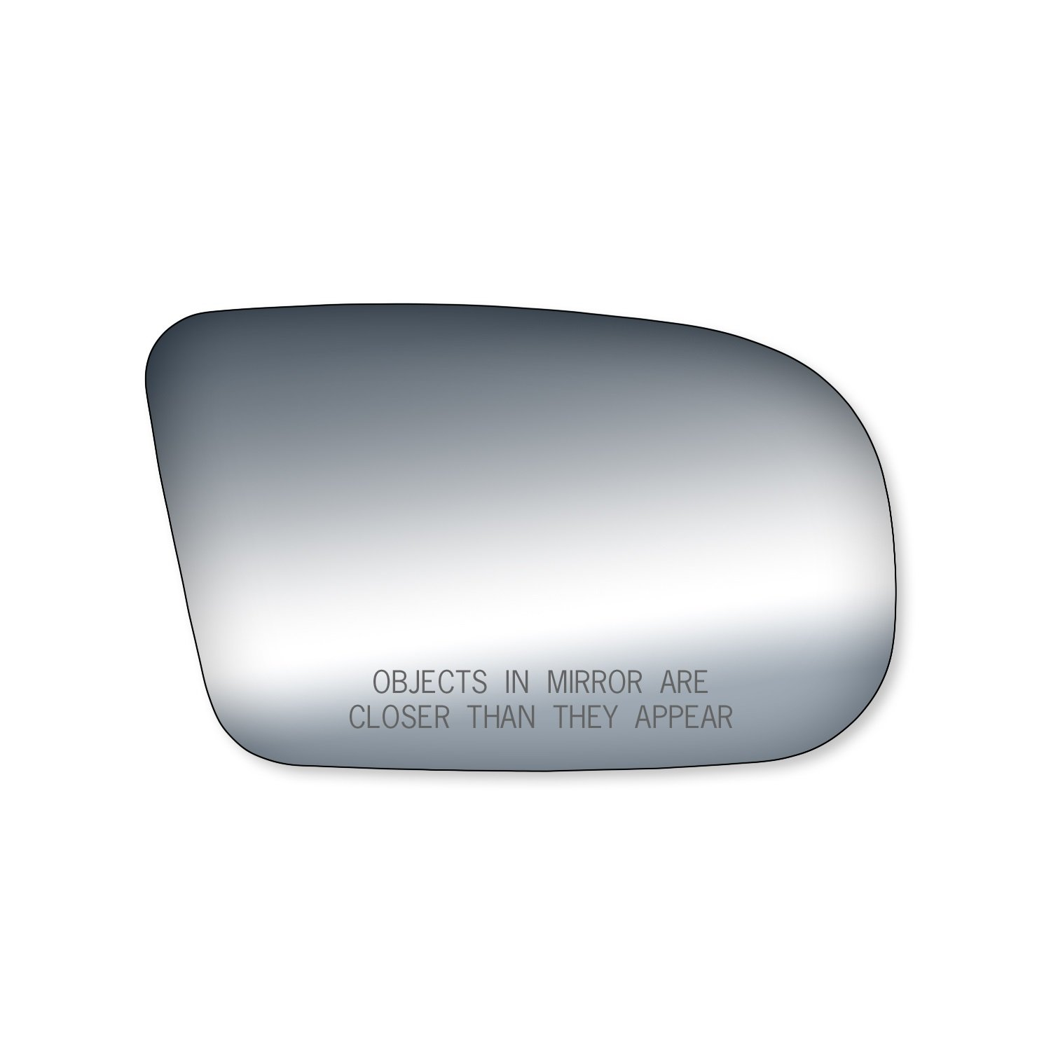 Fit System 90071 Buick//Oldsmobile//Pontiac Passenger Side Replacement Mirror Glass