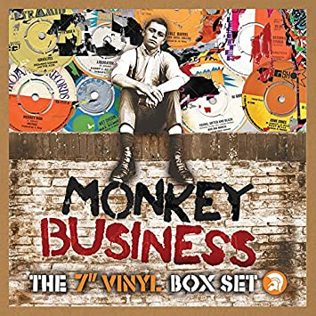 "Image result for monkey business 7"" boxset vinyl art"
