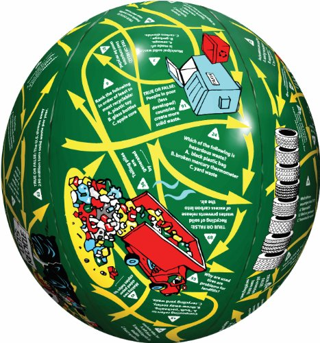 American Educational Vinyl Clever Catch Recycling Ball, 24