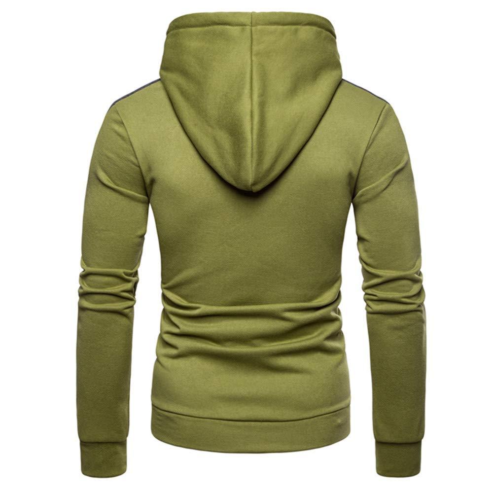 Hombre blusa tops moda fashion 2018, ❤ Sonnena Sudadera con capucha de manga larga con capucha y manga larga de invierno de invierno de los hombres: ...