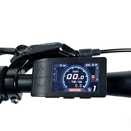 BAFANG Mini Color Display 500C for 8fun BBS01 BBS02 BBSHD Mid Crank Motor  Conversion Kit E-Bike Speedometer Controller