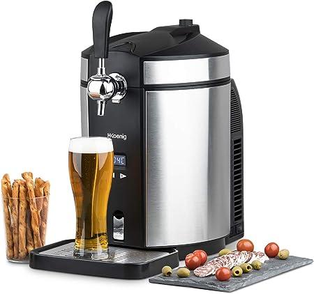 Compatible con todos los tipos de barriles de cerveza (barriles universales de 5l),Temperatura ajust