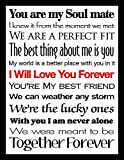Picture Perfect International I Will Love You Forever II Framed Wall Art