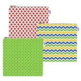 Cloth Sandwich Bags - Set of 3 - Yummi Pouch (Spunky)
