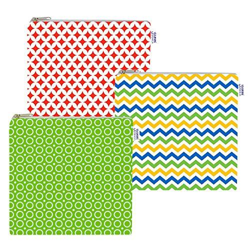 Cloth Sandwich Bags - Set of 3 - Yummi Pouch (Spunky) by Yummi Pouch