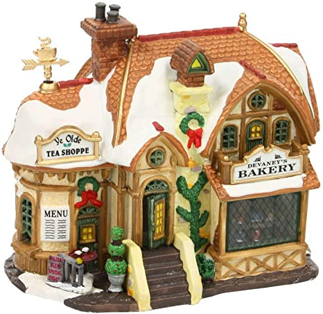 Lichthäuser LED Weihnachtsdorf Lemax Tannenbaum Christmas Shop