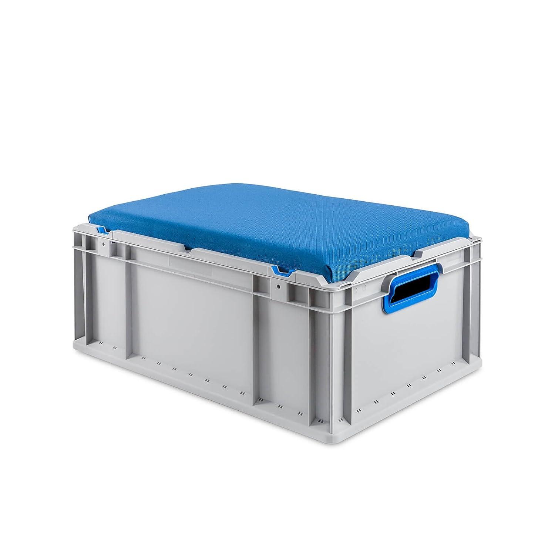 Eurobox Seat Box, Griffe offen, 600x400x220mm, 1 St., rot ab-in-die-BOX.de