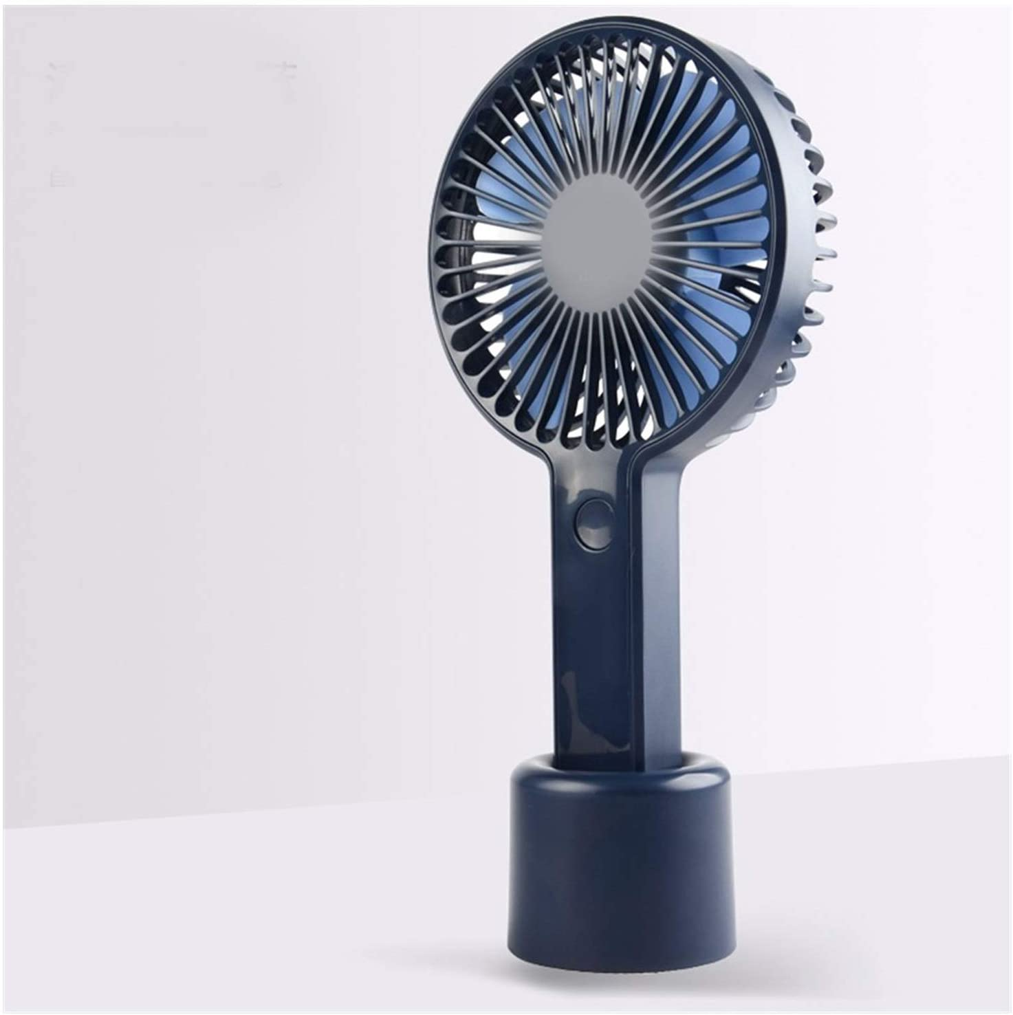 Air Cooling Fan Handheld Portable Personal Fan USB Cooling Electric Fan Outdoor 3 Gear Wind Fans Color : Black