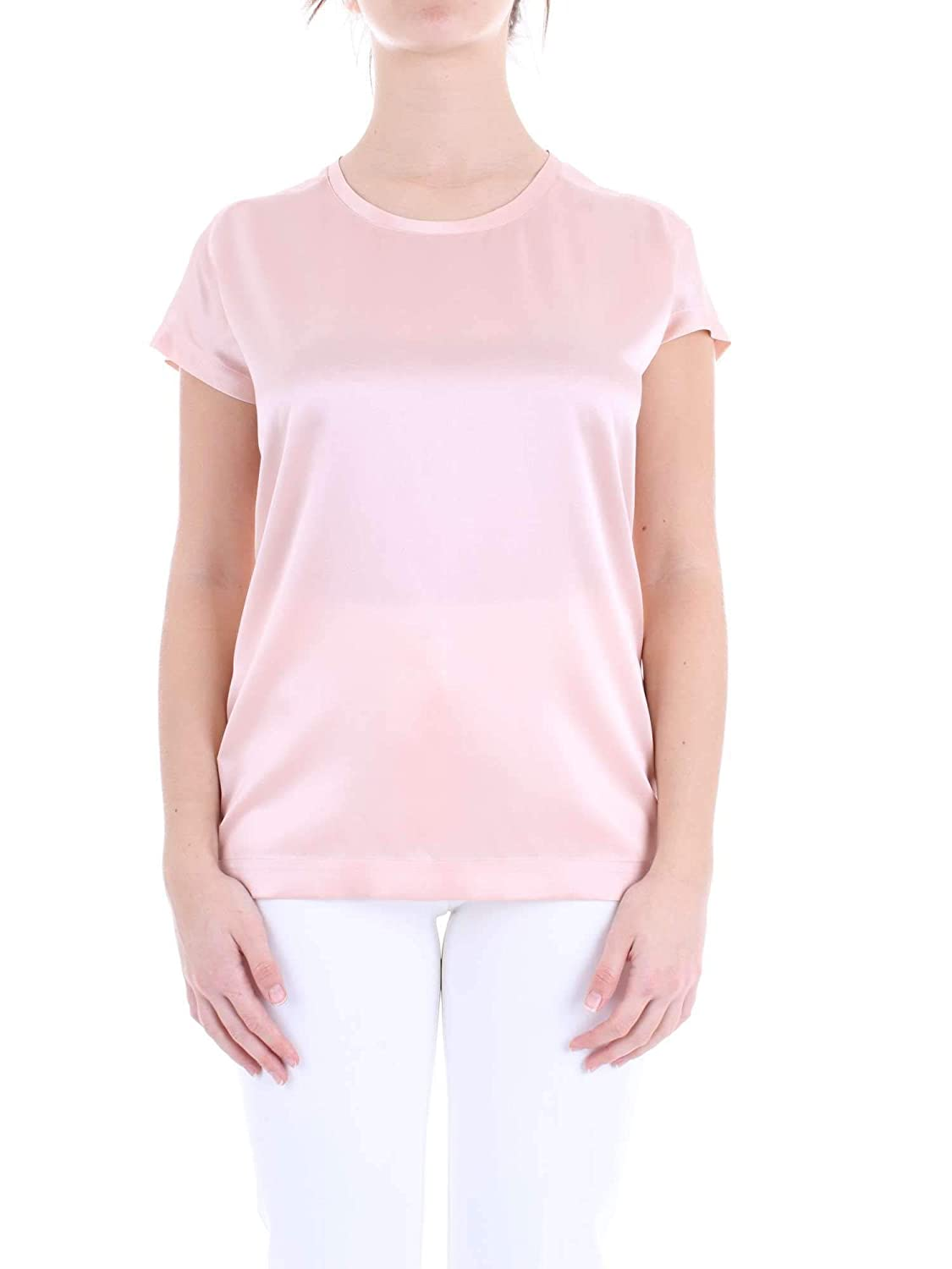 8f4bf3bfc47 Pinko Women's 1G1419Y4FGO53 Pink Silk Blouse: Amazon.co.uk: Clothing