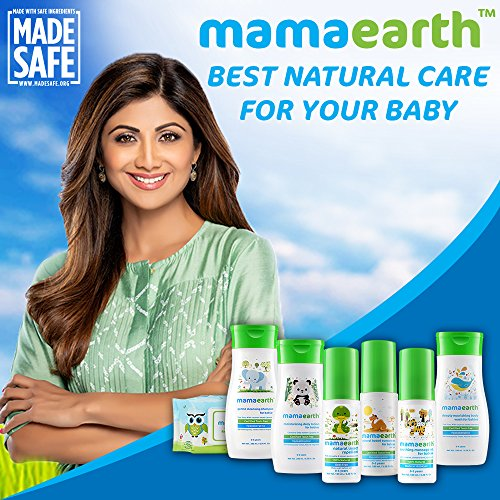 Mamaearth Gentle Cleansing Natural Baby Shampoo, 400ml (White)