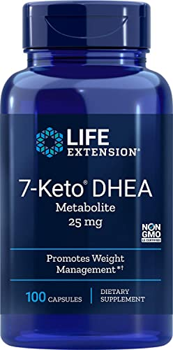 Life Extension 7-Keto Dhea 25 Mg, 100 Capsules