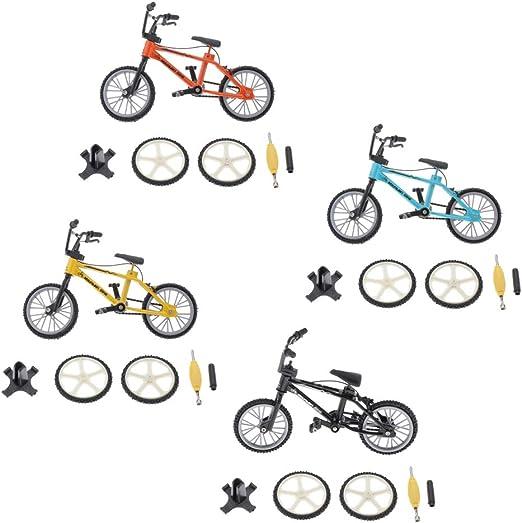 P Prettyia Mini Gadget De Escritorio BMX Bicicleta Modelo Finger ...
