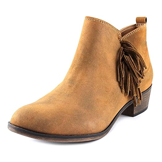Womens Alix Fringe Ankle Booties Brown 11 M