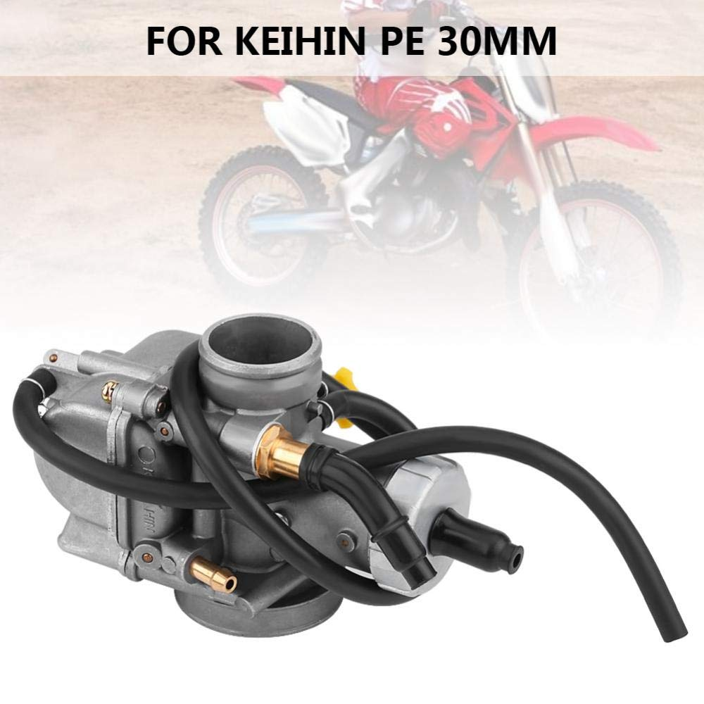 dmm Carburateur dmm pour PE30,120 Main Jet 42 Pilot//Slow Jet 30mm Carb Carburateur Convient pour VTT Dirt Bike Go Kart 125cc-800cc