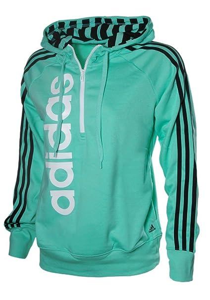 Adidas Damen RL LIN Hoody Q34 Sweatshirt mit Kapuze Pullover
