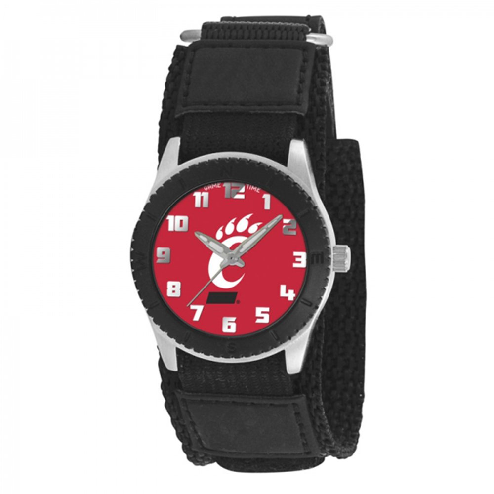 Game Time Boy's 'Rookie' Quartz Metal and Canvas Casual Watch, Color:Black (Model: COL-ROB-CIN)