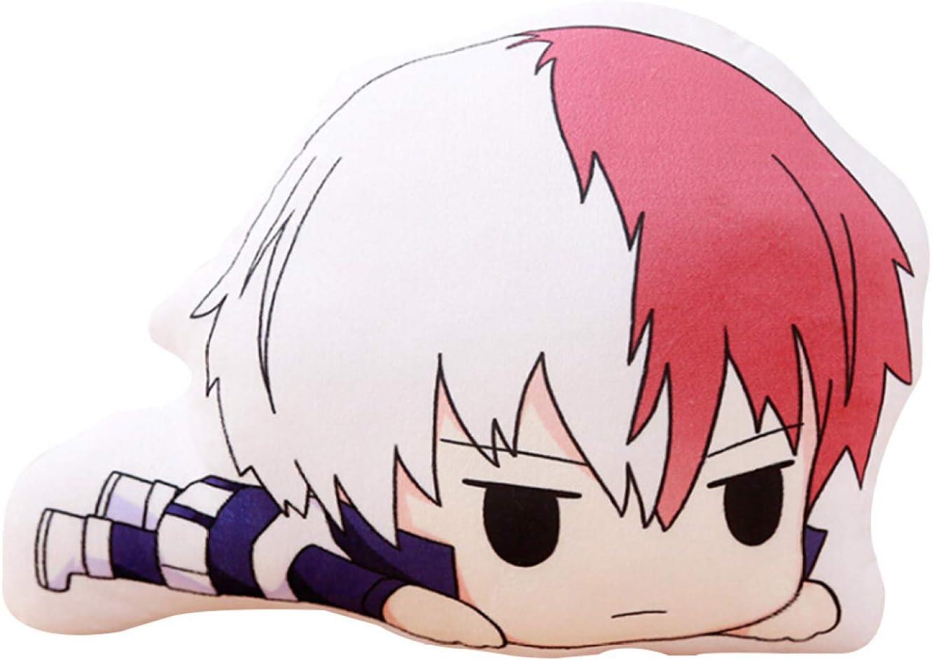 XINGSd Impeccable My Hero Academia Animation Around Plush Pillow Asui Tsuyu Novelty Anime Cartoon Image Pillow Anime Fans Gift L Bakugou Katsuki