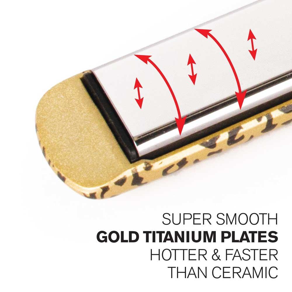 Corioliss C3 - Plancha de pelo, placas de titanio pulido, color ...
