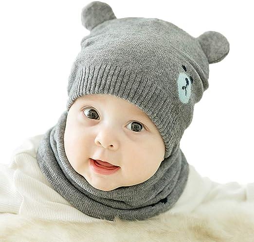 Toddler Kids Child Baby Girl Boy Winter Warm Earflap Knit Crochet Hat Beanie Cap