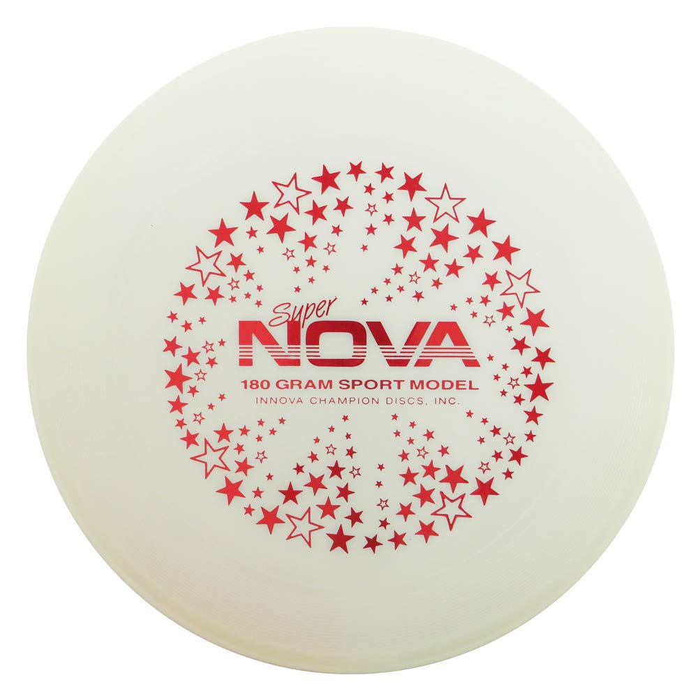 INNOVA Limited Edition Glow Super Nova 180g Ultimate Sport Disc [Stamp Colors May Vary] by INNOVA