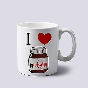 Love Nutella Mug Deux Heart 8 Gram À Tasse Côtés I 311 JFl1cTK3