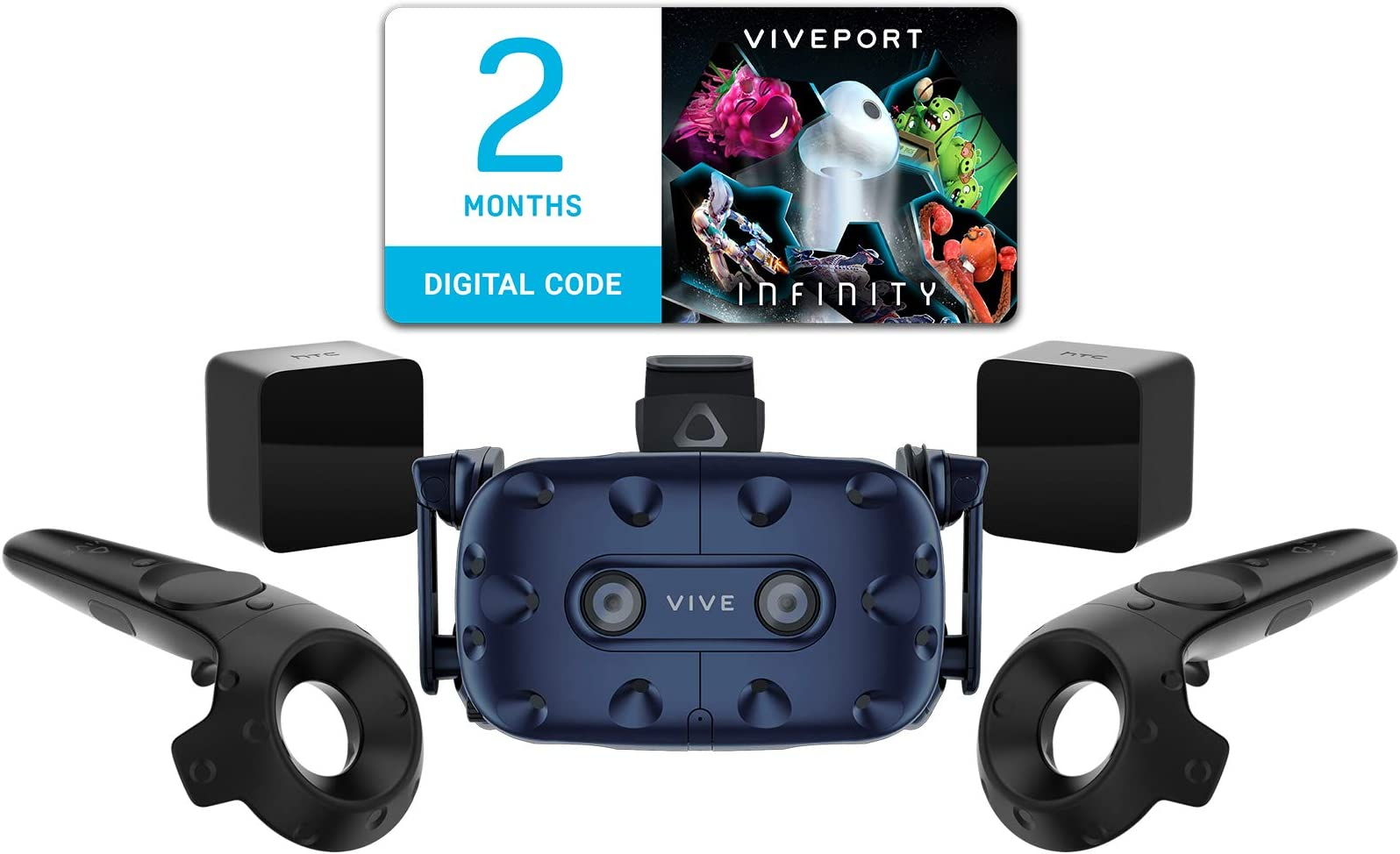 be032b9c3f52 Amazon.com  HTC Virtual Reality System Vive Pro Starter Kit - PC ...