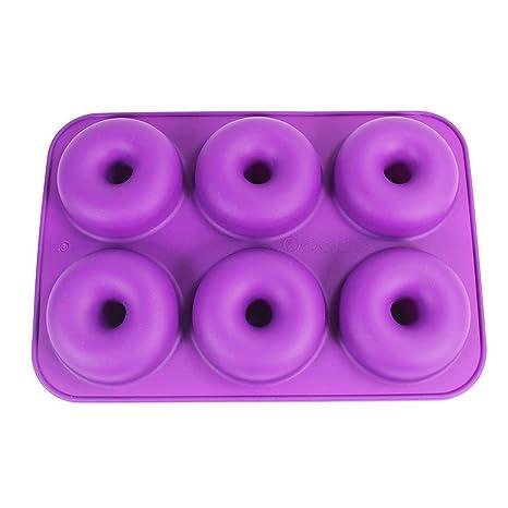 Sartén de silicona para horno, antiadherente, forma de castaño de tamaño completo, bandeja