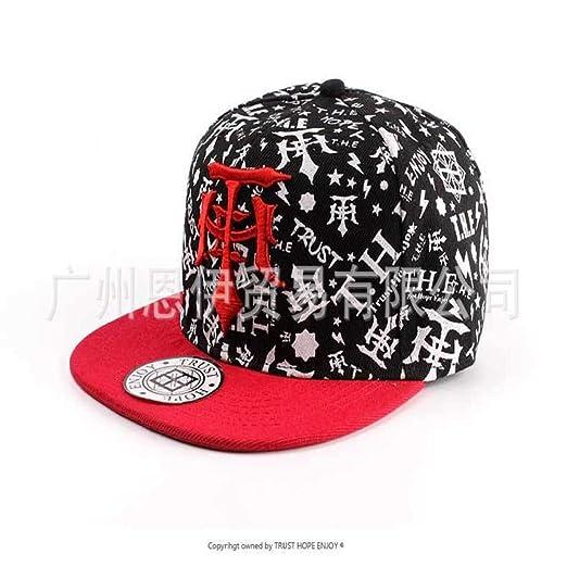 xiaochicun Sombrero de Hip Hop con Estampado Coreano para Hombre ...