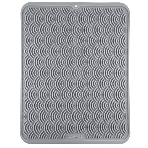 Zenware Large Silicone Dish Drying Kitchen Mat