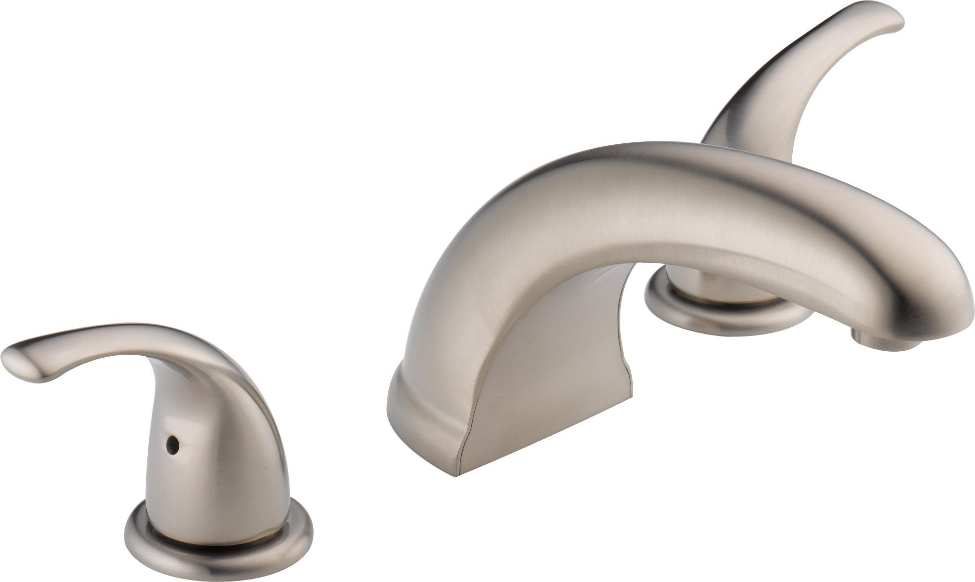 Peerless PTT298510-BN Choice Two Handle Roman Tub Trim, Brushed Nickel (Rough-in not included)