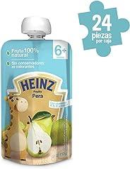 Heinz Papilla para Bebé, Sabor Pera, 113 g, 24 Piezas