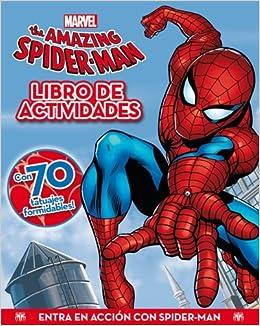 Spider-man. Actividades con tatuajes: Amazon.es: Marvel: Libros