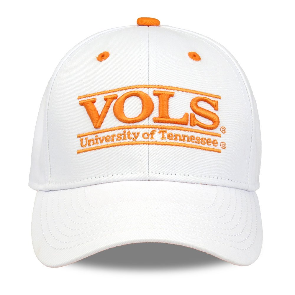 premium selection 80a66 a97b7 Amazon.com   The Game NCAA Tennessee Volunteers Unisex NCAA bar Design Hat,  White, Adjustable   Sports   Outdoors