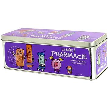 Promobo - Gran recinto de Farmacia cuidados medicamentos Infirmerie Picto Morado: Amazon.es: Hogar