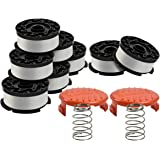 Generep Weed Eater Spool for Black and Decker AF-100,30 Feet/0.065 Inches Line String Trimmer Autofeed System Replacement Spo