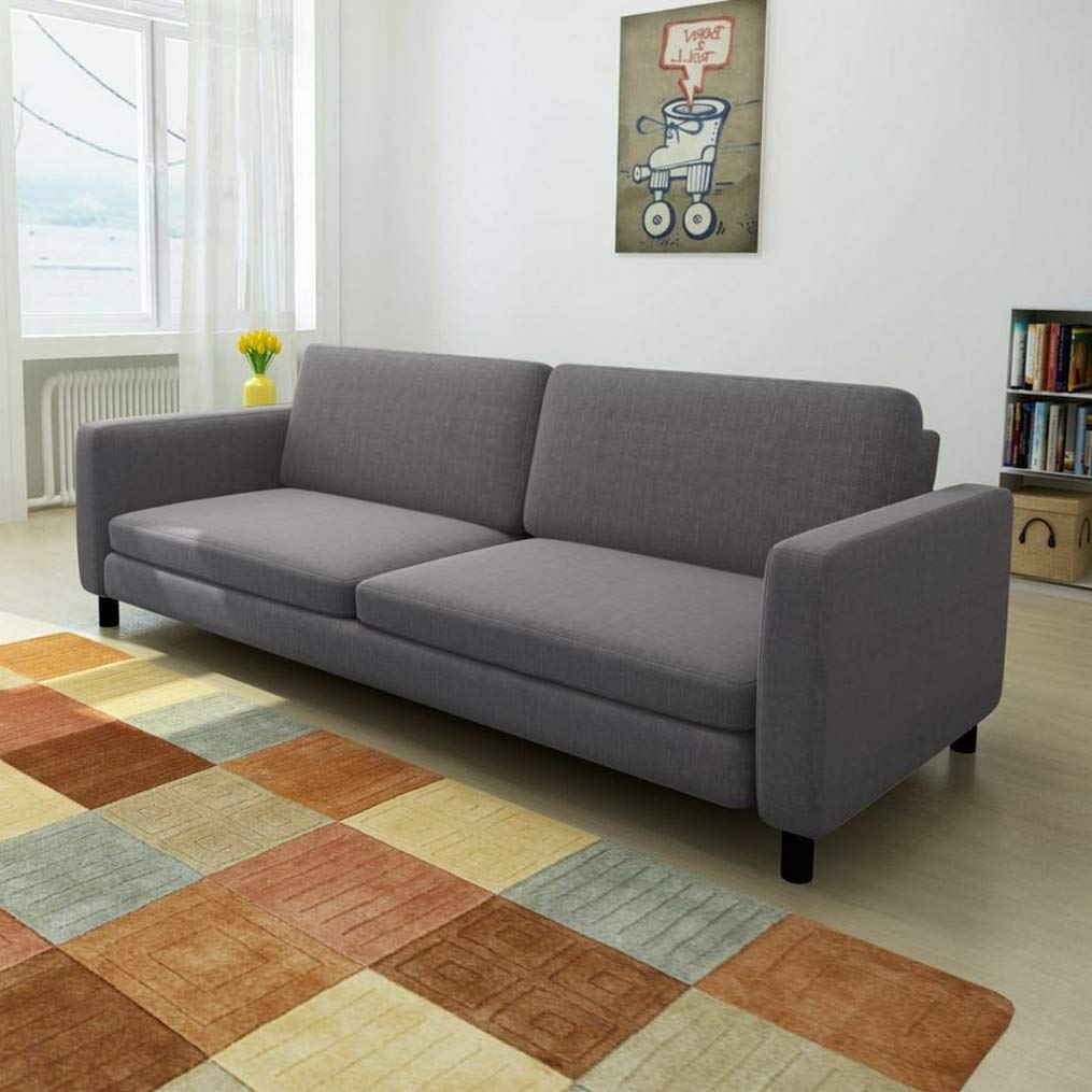 Amazon.com: Hebel Modern Fabric Upholstry Sofa Couch Living ...