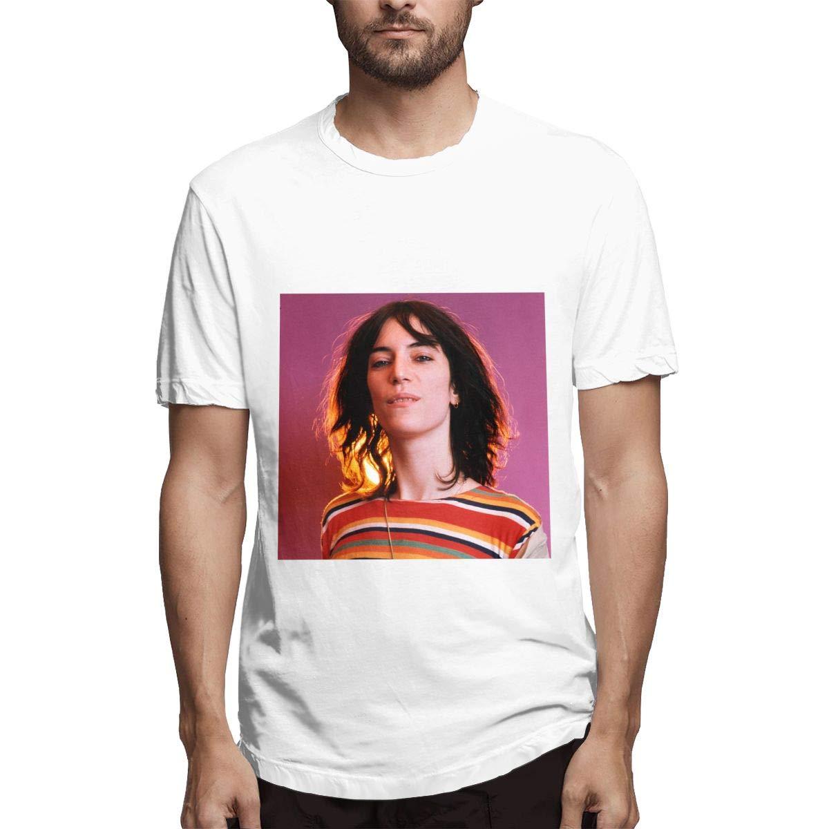 Lihehen S Patti Smith Simple Casual Round Neck T Shirt